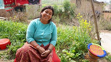 Mental health support after the earthquake in Nepal