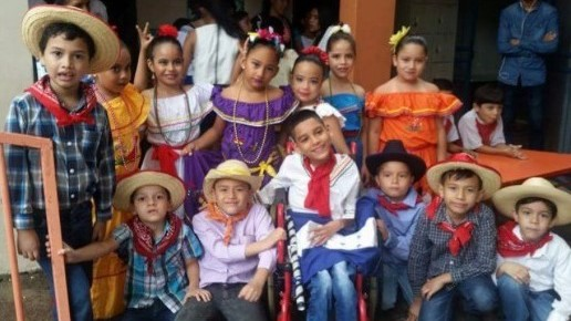 Fabricio and his classmates